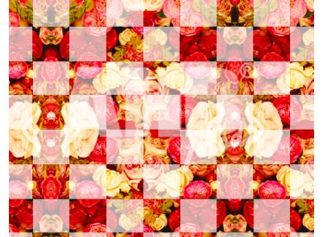 Floral Tabuleiro